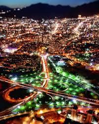 Josip On Deck Instagram by تهران از برج میلاد در شب تهران شب شهر برج میلاد Tehran From