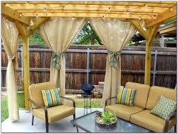 outdoor patio curtain ideas patios home decorating ideas