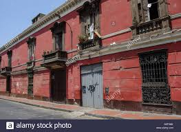 100 Houses For Sale In Lima Peru Street View Of Old Town With Traditional Colorful
