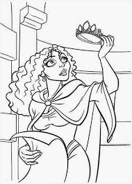 Coloring Pages Tangled Free Printable Of