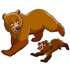 Mama Bear Baby Clipart