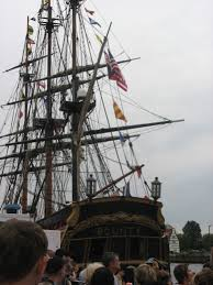 Hms Bounty Replica Sinking by Not Ae Hms Bounty Sinks