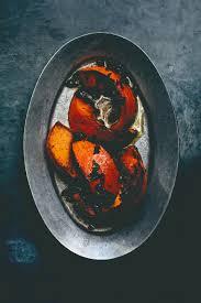 Japanese Pumpkin Recipe Roasted by Recipe Gjelina U0027s Grilled Kabocha Squash With Mint Pomegranate