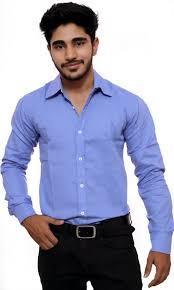 deeksha Men Solid Casual Light Blue Shirt Buy deeksha Men Solid