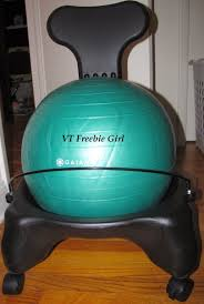 Physio Ball Chair Base by Furniture Interesting Gaiam Balance Ball Chair In Turquoise Ball