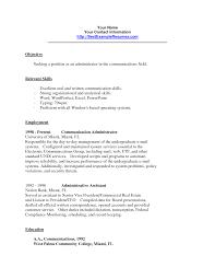 Communication Skills For Resume Examples Template Rh Hesplanade Com