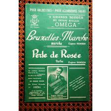 100 Rosee Bruxelles Marche Perle De Rosee By Eugene Hansen Sheet With