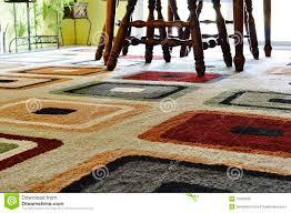 teppich in esszimmer stockfoto bild phantasie bunt