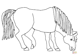 Click The Blue Horse What Do You See Coloring Pages
