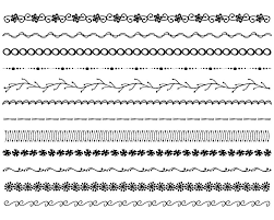 28 Collection Of Simple Border Ideas For Drawing