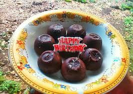 resep chocolate lava cake kukus yang menggugah selera