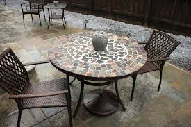 mosaic dining room table tile awesome tables for size of sale