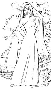 Barbie Doll Coloring Pages 9