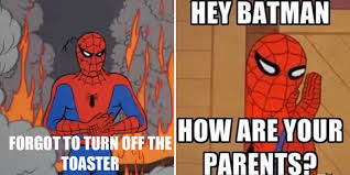 spiderman desk meme meaning david dror