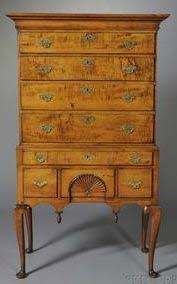 Birdseye Maple Highboy Dresser by 250 Best Tiger Maple Images On Pinterest Country Furniture