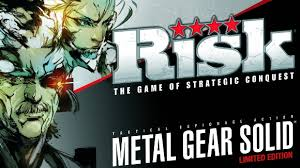 RISK Metal Gear Solid Limited Edition Board Game Logo