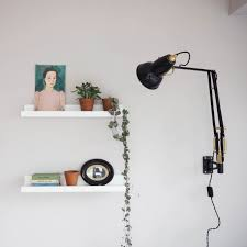 anglepoise original 1227 brass wall mounted l slate with