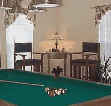 pool billiard furniture plans