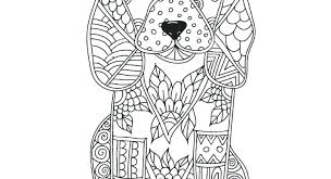 Stuffed Animals Coloring Pages Dog Adult Or Children Page Hand Drawn Animal Unicorn Mandala Free Childrens