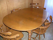 Ethan Allen Dining Room Furniture by Maple Dining Table Ebay
