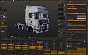 100 Create A Truck Euro Simulator Creates Blender Addon BlenderNation