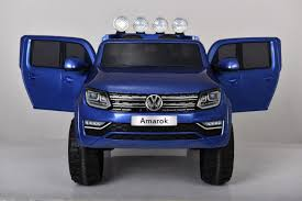 VW Amarok Ride On Electric Pick-Up Truck For Kids (Blue) 12v Gwagon 4x4 Truckjeep Battery Electric Ride On Car Children Predatour 12v Kids On Beach Quad Bike Green Micro Ford Ranger Jeep Youtube Buy Toy Fire Truck Flashing Lights And Siren Sound Shop Aosom Off Road Wrangler Style Twoseater Rideon With Parental Cars For With Remote Control Fresh Amazon Best Choice 24ghz Rc Toys 112 4wd High Speed Quality For 110 Big 4 Channel 10 Kid Trax Dodge Ram Review
