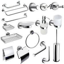 badezimmer accessoires set bad wc garnitur edelstahl wand 20
