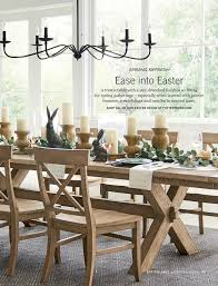 Pottery Barn Toscana Table - Table Designs Easter At Pottery Barn Kids Momtrends Easy Diy Inspired Rabbit Setting For Four Entertaing Made 1 Haing Basket Egg Tree All Sparkled Up Tablcapes Table Settings With Wisteria And Bunny Palm Beach Lately Brunch My Splendid Living Toscana Designs