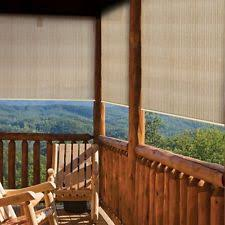 Roll Up Patio Shades by Patio Blinds And Shades Outdoor Privacy Screens Coolaroo Sun