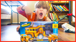 Construction Truck Videos For Children - RC Dump Truck Toy Review ... Cstruction Trucks Toys For Children Tractor Dump Excavators Truck Videos Rc Trailer Truckmounted Concrete Pump K53h Cifa Spa Garbage L Crane Flatbed Bulldozer Launches Ferry Excavator Working Tunes 1 Full Video 36 Mins Of Truck Videos For Kids Vehicles Equipment The Kids Picture This Little Adorable Road Worker Rides His Tonka Toy Tow And Toddlers 5018 Bulldozers Vs Scrapers