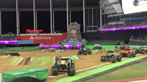 100 Monster Truck Show Miami Jam 2018 Mohawk Marlins Park YouTube