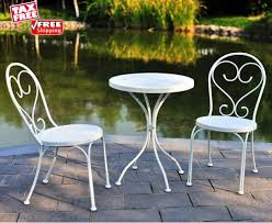 3Pc Outdoor Furniture Bistro Set Balcony Porch Patio White ... Bright Painted Tables Chairs Stock Photos Fniture Wikipedia Us 3899 Giantex Portable Outdoor Folding Table Set Camping Beach Pnic With Carrying Bag Op3381gn On Aliexpress Retro Vintage View Of Pastel Cafe Chairstables Chair And Wild 3 Rattan Garden Patio Conservatory Porch Modern And Design Sets Mandaue Foam Outdoors Fold Group Close Alinium Alloy Chairs In Stock Photo Image Greece In Cafe Or Restaurants Outside