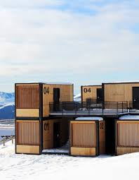 100 Sea Container Accommodation Ora Itos Flying Nest Is The Nomadic Hotel Room That Travels