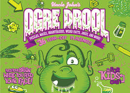 Uncle Johns Bathroom Reader Facts by John U0027s Ogre Drool 36 Tear Off Placemats For Kids Only