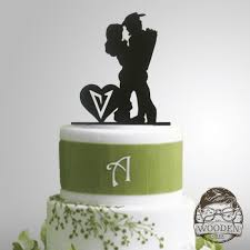 Home Weddings Cake Toppers