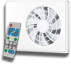 wandventilator abluftventilator badezimmerlüfter badlüfter wandlüfter ki fan mit intelligenter steuerung und fernbedienung