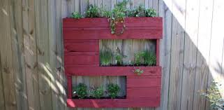 Planter Made From Wood Pallet