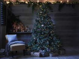7ft Pre Lit Christmas Tree Tesco by 13 Best Artificial Christmas Trees The Independent