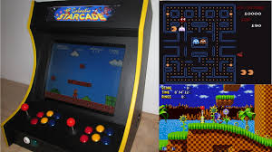 Raspberry Pi Mame Cabinet Tutorial by Rpi Arcade Machine For 2 Players Darkbluebit Com