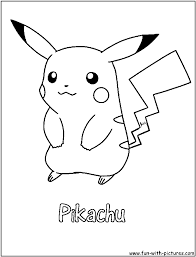 Fresh Pikachu Coloring Pages Best Design
