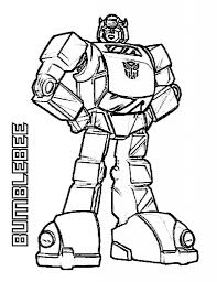 Transformers Coloring Pages Bumblebee Pictures 6274 In