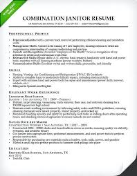 Janitorial Cover Letter Janitor For Resume Best Sample Resumes Manager