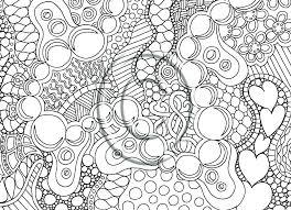 Difficult Coloring Pages For Teenagers Abstract Pics