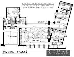 100 Conrad Design Pebble Beach Residence By Group CAANdesign