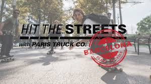 Paris Truck Co. | Hit The Streets | Barcelona - SKATE[SLATE] Amazoncom Paris Truck Co Skateboarding And Loboarding Multi Hit The Streets Barcelona Skslate Welcomed Kate Voynova Longboard Magazine Europe Amanda Powell On Island Time Mode Von Gnstig Online Kaufen Bei Fashnde Presents Sideways To San Diego Board Action Savant 180 Gunmetal Grey 50 Or 43 Degrees Thuro 180mm Trucks Purple Passion Atbshopcouk V2 Deg Rkp Satin Red Welcome To Team