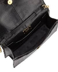 tom ford small zip front sequin karung crossbody clutch bag in