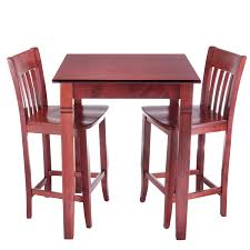 Jacob 3pc Pub Set - Beechwood World Seating LLC