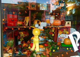 Pumpkin Festival Circleville Ohio 2 by Retail Winners Of The Pumpkin Show Window Decorating Contest