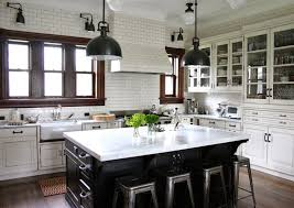 New Trends For Black And White Kitchen In Ten Different Styleskitchen