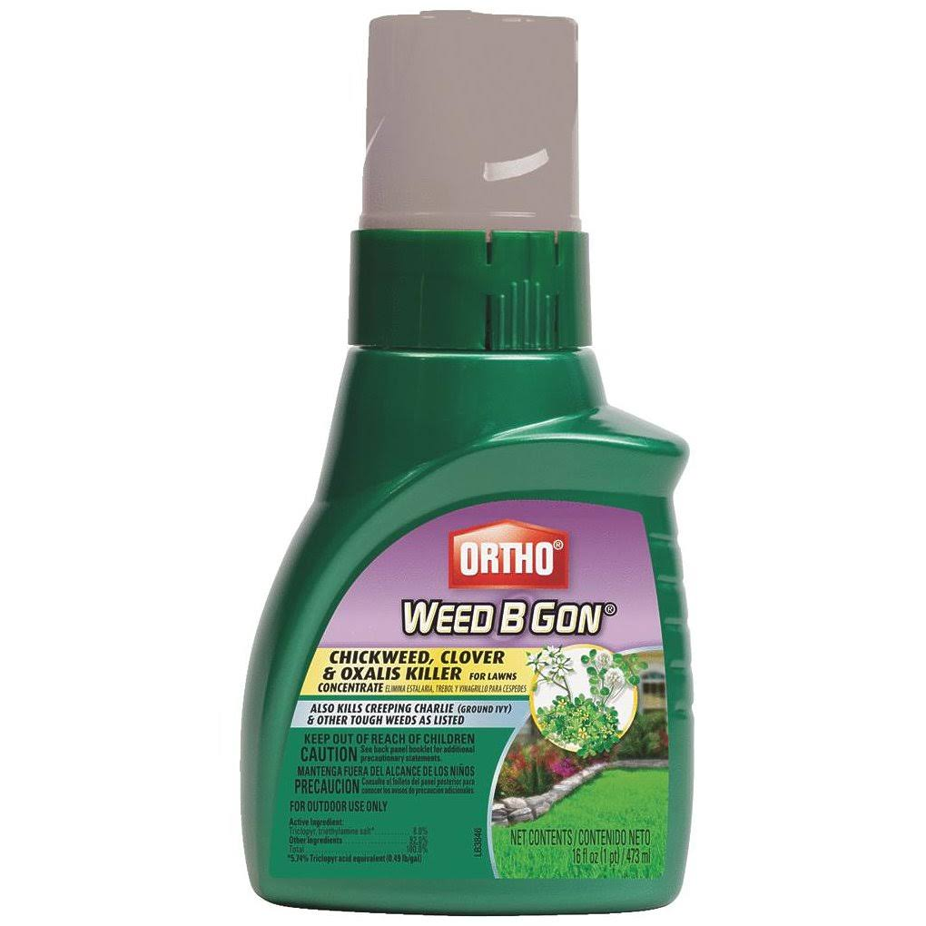 Ortho Weed B Gon Chickweed Clover and Oxalis Killer for Lawn Concentrate - 16oz